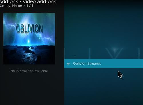 How to Install Oblivion Streams Kodi Add-on with Screenshots step 17