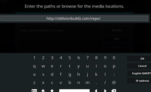 How to Install Oblivion Streams Kodi Add-on with Screenshots step 5