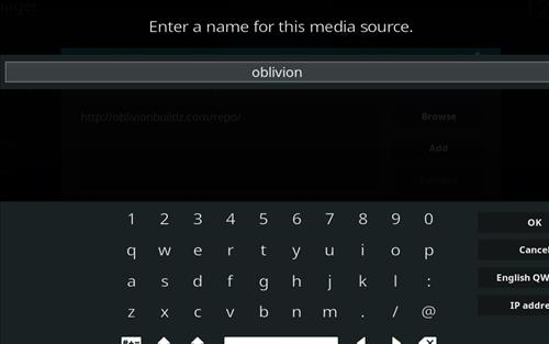 How to Install Oblivion Streams Kodi Add-on with Screenshots step 6