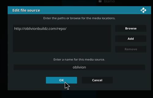 How to Install Oblivion Streams Kodi Add-on with Screenshots step 7