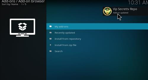 How to Install SecrettvVIP Kodi Add-on with Screenshots step 13