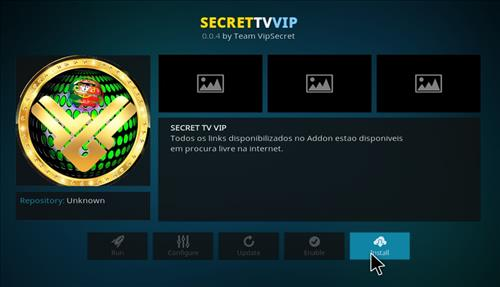 How to Install SecrettvVIP Kodi Add-on with Screenshots step 18