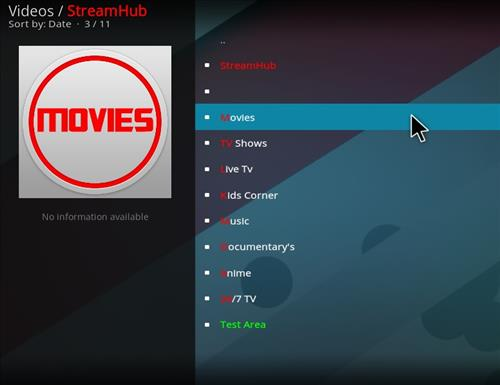 How to Install Stream Hub Add-on Kodi with Screenshots pic 2