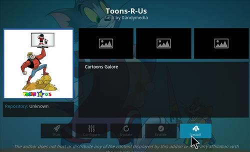 How to Install Toons-R-Us Kodi Add-on with Screenshots step 18