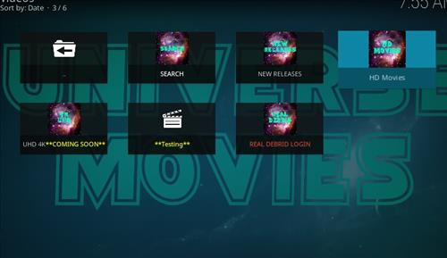 How to Install UniverseHD Kodi Add-on with Screenshots pic 2