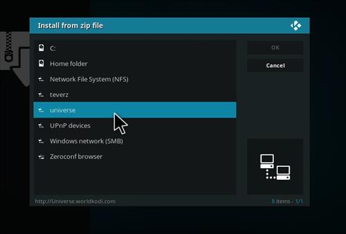 How to Install UniverseHD Kodi Add-on with Screenshots step 11