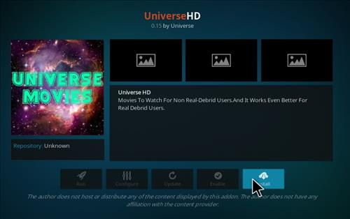 How to Install UniverseHD Kodi Add-on with Screenshots step 18