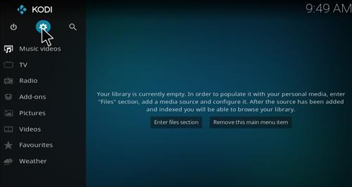 Live Hub Add-on Kodi 17 Krypton How To Install Guide step 1