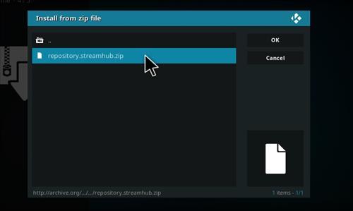 Live Hub Add-on Kodi 17 Krypton How To Install Guide step 12