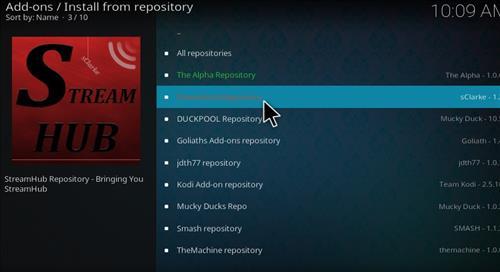 Live Hub Add-on Kodi 17 Krypton How To Install Guide step 15