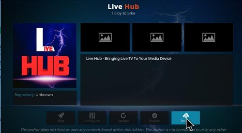 Live Hub Add-on Kodi 17 Krypton How To Install Guide step 18