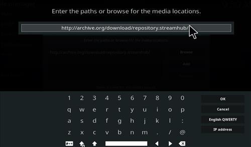 Live Hub Add-on Kodi 17 Krypton How To Install Guide step 5