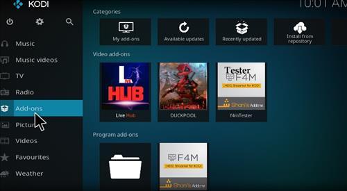 Live Hub Add-on Kodi 17 Krypton How To Install Guide step 8