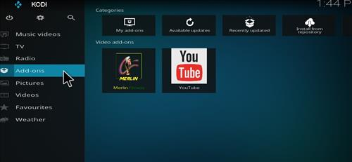 Merlin Fitness Add-on Kodi 17 Krypton How to Install Guide step 8
