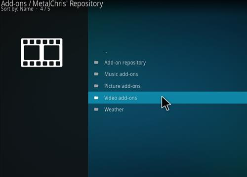 MetalChris' Repository Kodi 17 Krypton How to Install Guide step 21