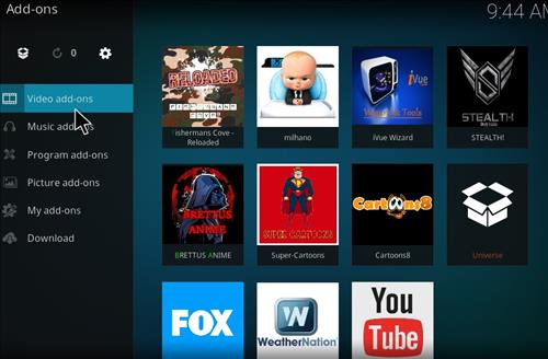 Milhano IPTV Add-on Kodi 17 Krypton How to Install Guide step 14