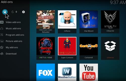 Milhano IPTV Add-on Kodi 17 Krypton How to Install Guide step 9