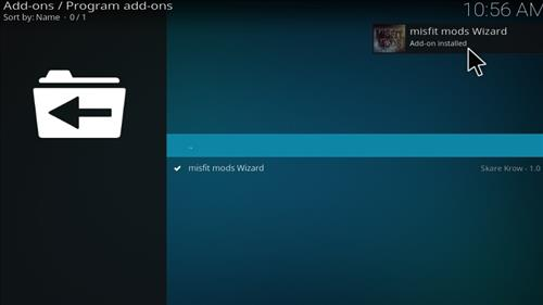 Misfit Mods Builds Kodi 17 Krypton How to Install Guide step 19