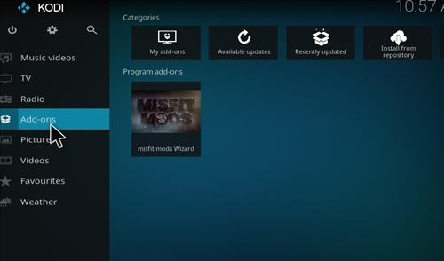 Misfit Mods Builds Kodi 17 Krypton How to Install Guide step 20