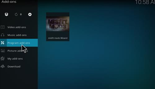 Misfit Mods Builds Kodi 17 Krypton How to Install Guide step 21