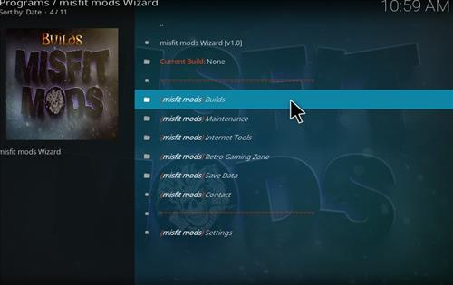 Misfit Mods Builds Kodi 17 Krypton How to Install Guide step 23