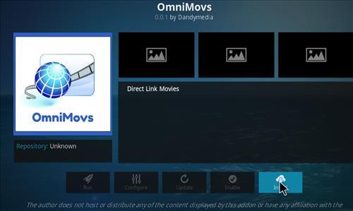OmniMovs Add-on Kodi 17.3 Krypton How to Install Guide step 18
