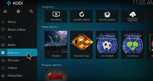 Poseidon Add-on Kodi 17 Krypton How To Install Guide step 8