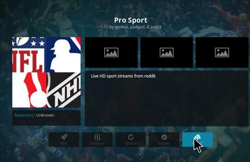 Pro Sport Add-on Kodi 17 Krypton How to Install Guide step 23