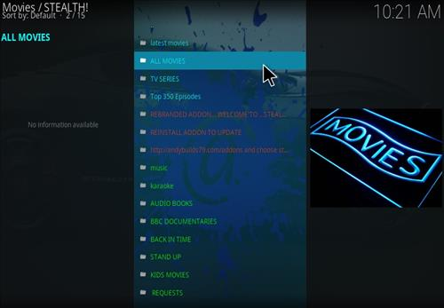 Stealth Add-on Kodi 17 Krypton How to Install Guide pic 2