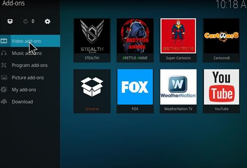 Stealth Add-on Kodi 17 Krypton How to Install Guide step 14