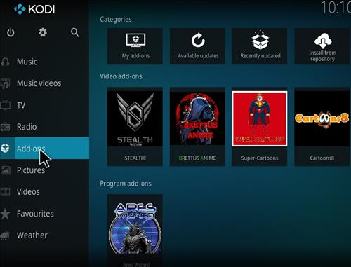 Stealth Add-on Kodi 17 Krypton How to Install Guide step 8