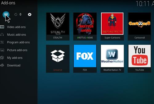 Stealth Add-on Kodi 17 Krypton How to Install Guide step 9