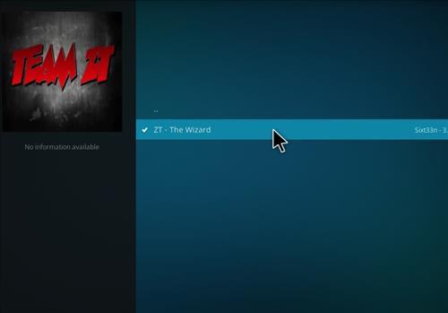 Tomb Raider Build Kodi 17.6 Krypton step 17