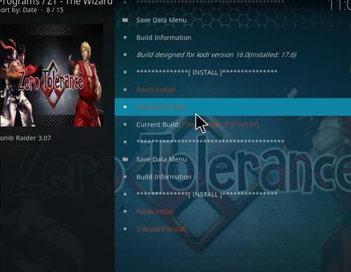 Tomb Raider Build Kodi 17.6 Krypton step 25