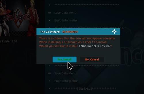 Tomb Raider Build Kodi 17.6 Krypton step 26