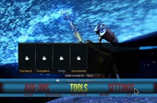 Tomb Raider Build Kodi 17.6 Krypton step 29