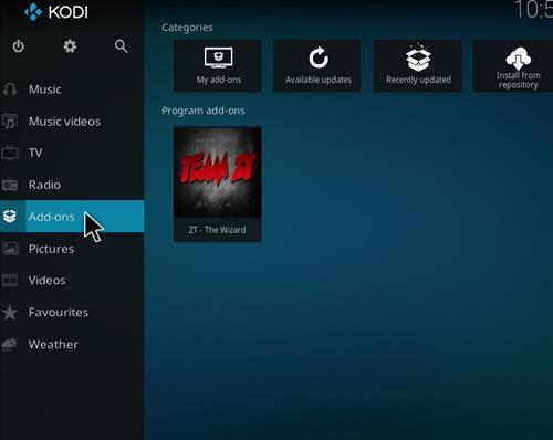 Tomb Raider Build Kodi 17.6 Krypton step 8