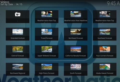 WeatherNation Add-on Kodi 17 Krypton How to Install Guide pic 2