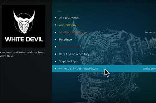 How To Install White Devil Streams Kodi Add-on with Screenshots step 17