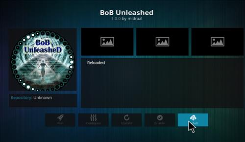 How to Install Bob Unleashed Kodi Add-on with Screenshots step 18
