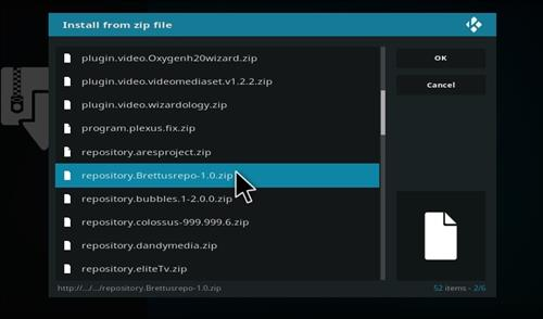 How to Install Brettus Kids Tube Kodi Add-on Guide with Screenshots step 12