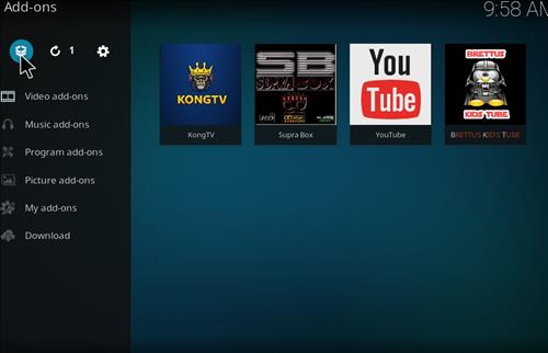 How to Install Brettus Kids Tube Kodi Add-on with Screenshots step 9