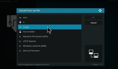 How to Install Duggz All in One Kodi Build with Screenshots step 11