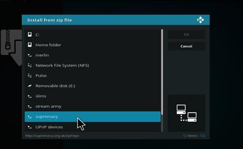 How to Install Elektra Vault Kodi Add-on with Screenshots step 11