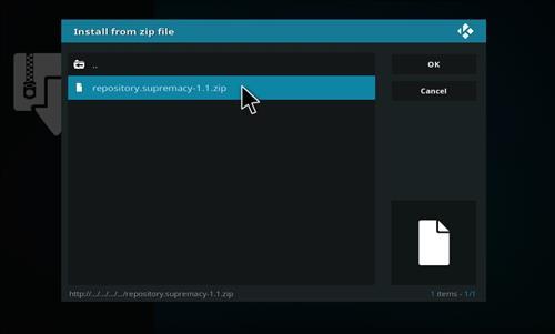 kodi how to add a zip file