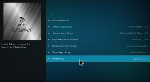 How to Install Elektra Vault Kodi Add-on with Screenshots step 16