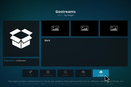 How to Install Go Streams Kodi Add-on with Screenshots step 18