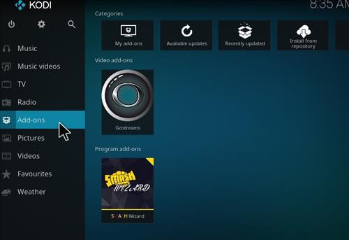 How to Install Go Streams Kodi Add-on with Screenshots step 8