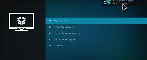How to Install Subzero Kodi Add-on with Screenshots step 13