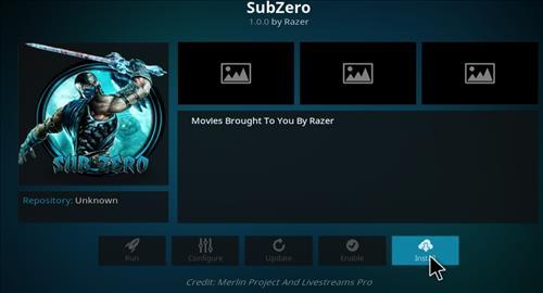 How to Install Subzero Kodi Add-on with Screenshots step 18